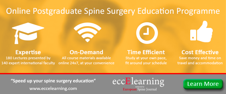 Online Postgraduate Spine Surgery Education Programme