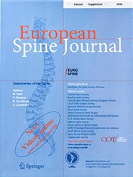 Foto rivista European Spine Journal